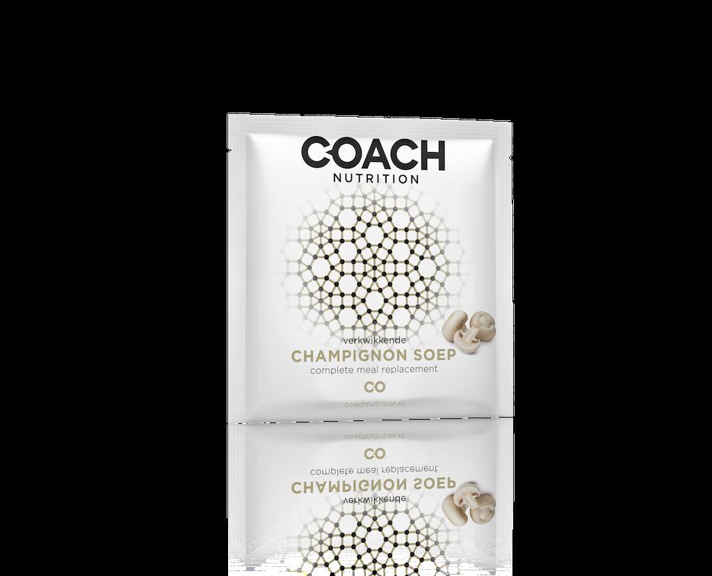 Champignongsoep van Coach Nutrition