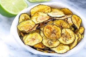 courgette chips een slanke snack