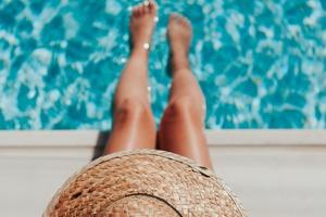 slank de zomer in