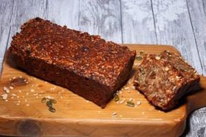 vezelrijk brood, vol noten en zaden